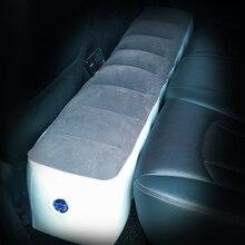Aufblasbare Auto Bett Matratze Camping Outdoor Zurück Sitz Durable Auto Kissen Lücke Pad Für Auto Travel Air Bett Auto Zubehör