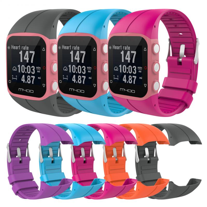 10 Colors For POLAR M400/M430 Official With The Same Paragraph Solid Color Breathable Silicone Strap Replacement Wristba