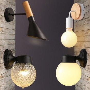 vintage led wall light luminaire led dining room bedside cabecero de cama