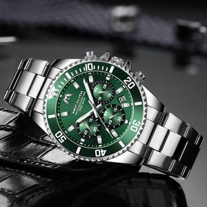 Image 3 - MEGALITH Reloj Hombre 2020 Fashion Casual Watch mężczyźni wodoodporny analogowy 24 godziny data zegarki kwarcowe sport Chronograph męski zegar