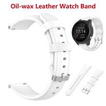 الإفراج السريع حزام ساعة يد من الجلد ل فوسيل سبورت 41 مللي متر/الجنرال 4 Q فينتشر HR/غارمين Vivoactive 4s استبدال حزام معصمه