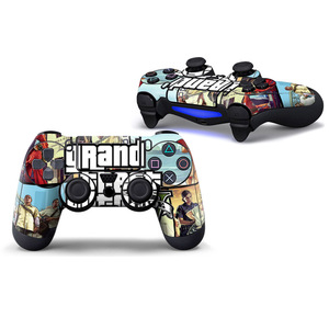 Image 3 - Iron man PVC Custom Sticker Case Protector For Sony for PS4 Playstation 4 Dualshock Controller