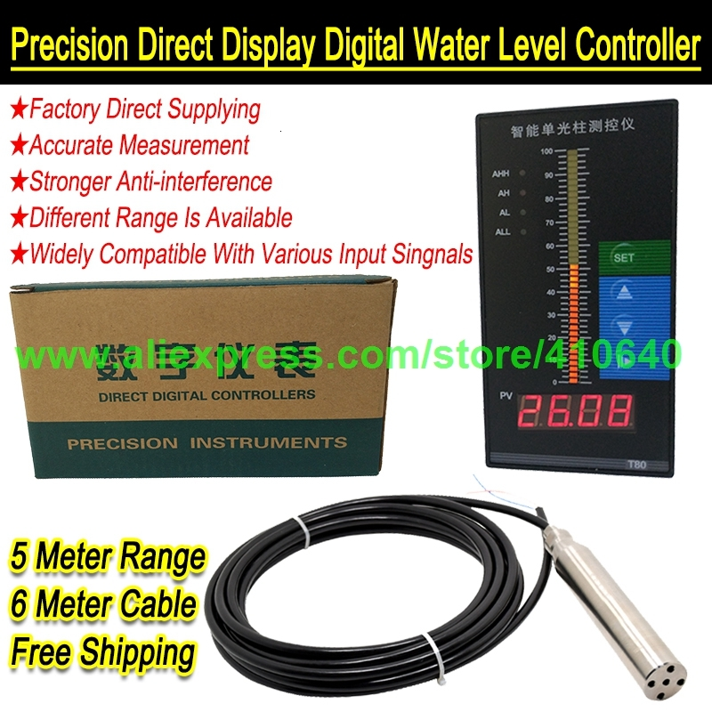 Precision Direct Display Digital Water Level Controller 00