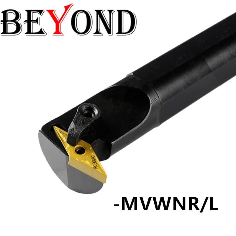 BEYOND MVWNR S25S MVWNL16 S25S MVWNR16 Lathe tool holder Internal Turning Tool MVWNL Carbide inserts CNC machine Boring Bar VNMG|Turning Tool| |  - title=