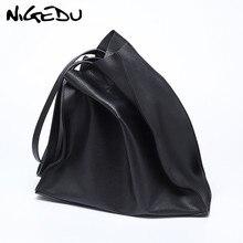 Дизайнерская женская сумка, большая вместительность, черные сумки для покупок, качественная искусственная кожа, женские большие сумки, повседневные женские сумки на плечо, bolsa