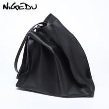 Designer women handbag Large capacity Black shopping bags Quality PU leather Womens big Totes Casual female Shoulder bags bolsa