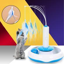 1 sztuk 20cm długie proste zabawki dla zwierząt domowych z piór zabawka dla kota obrotowy z piór grać z interaktywna zabawka dla kota śmieszny kijek dla kota na zabawka dla kota zabawka dla kota tanie tanio Pióro zabawki cats Feather AS shown about 20cm long China Activity Toy Puzzle Toy Does not apply