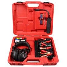 Conjunto de Estetoscopio electrónico combinado, herramienta de diagnóstico de ruido mecánico automático para coche, seis canales