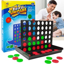 Puzzle-Toys Board-Game Connect Classic Masters Kids Gifts Foldable Children Line-Up 25x19.5x20cm