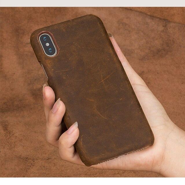 אמיתי למשוך למעלה עור טלפון מקרה FHX NP עבור iphone 5 5S SE 6 8 7 6s בתוספת כיסוי עבור iphone X 11 11 פרו 11 פרו מקס XS XR XS מקסימום