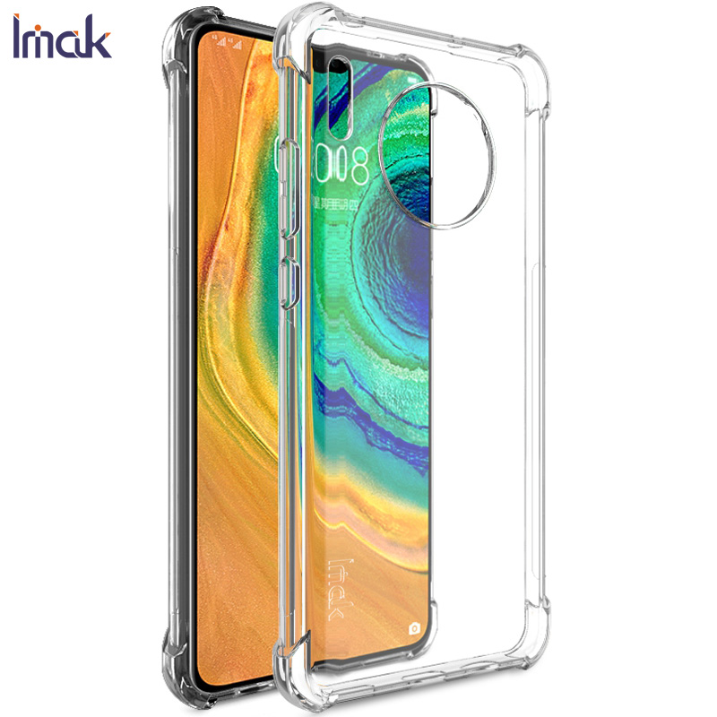 Buy Mate30 Crystal Case IMAK 360 Protection Transparent Back Shell for Funda Huawei Mate 30 Case Haiwei Mate 30 Back Cover Housing for only 7.62 USD