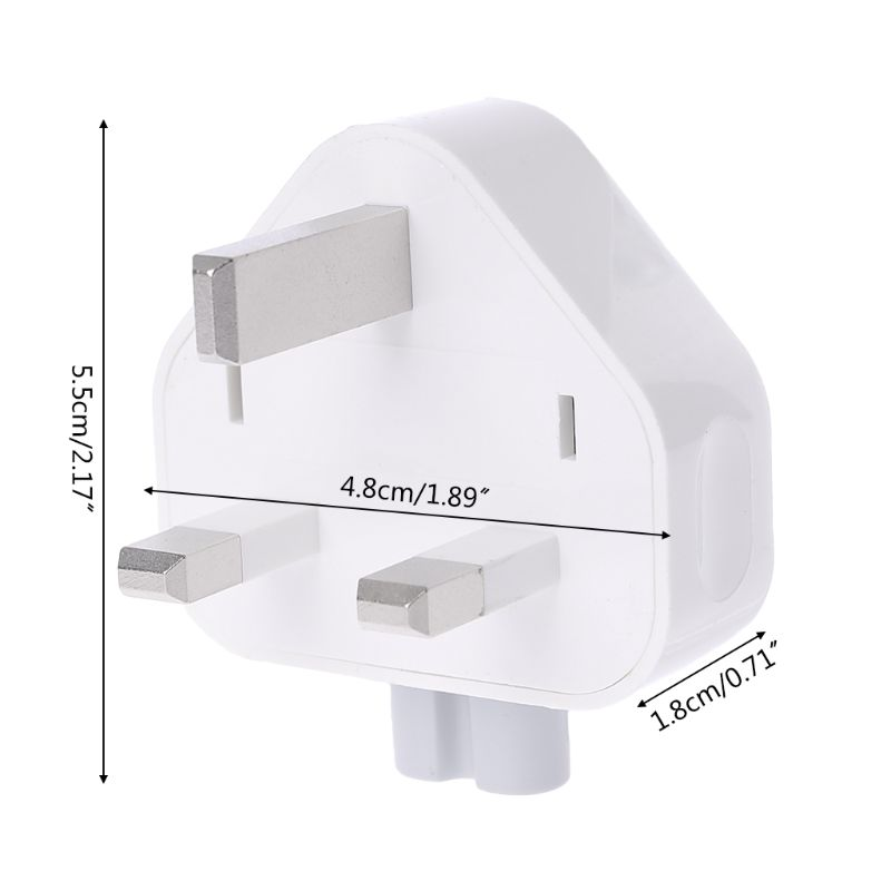 New White UK AC Plug Power Charger Adapter For Apple iBook/MacBook R91A