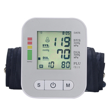Home Blood Pressure Monitor Tonometer Medical Equipment LCD Apparatus for Measuring Pressure Health Monitor Sphygmomanometer yuwell arm blood pressure monitor lcd digital sphygmomanometer home health equipment care heart measuring automatic monitor 690a