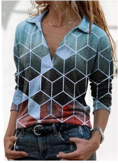 Aprmhisy Graphic Shirts Women Autumn New Long Sleeve Casual Streetwear Blouse Shirt Blusas Femininas 10