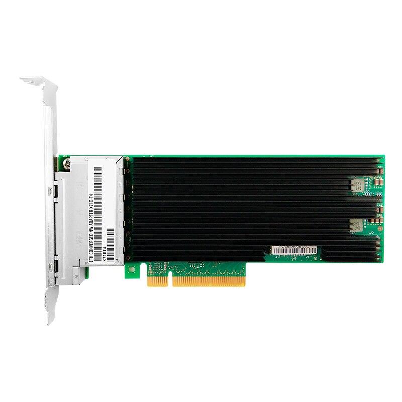 X710-T4 Ethernet Converged Network Adapter 10G PCIe Quad port Intel XL710BM1 RJ45 Copper(China)