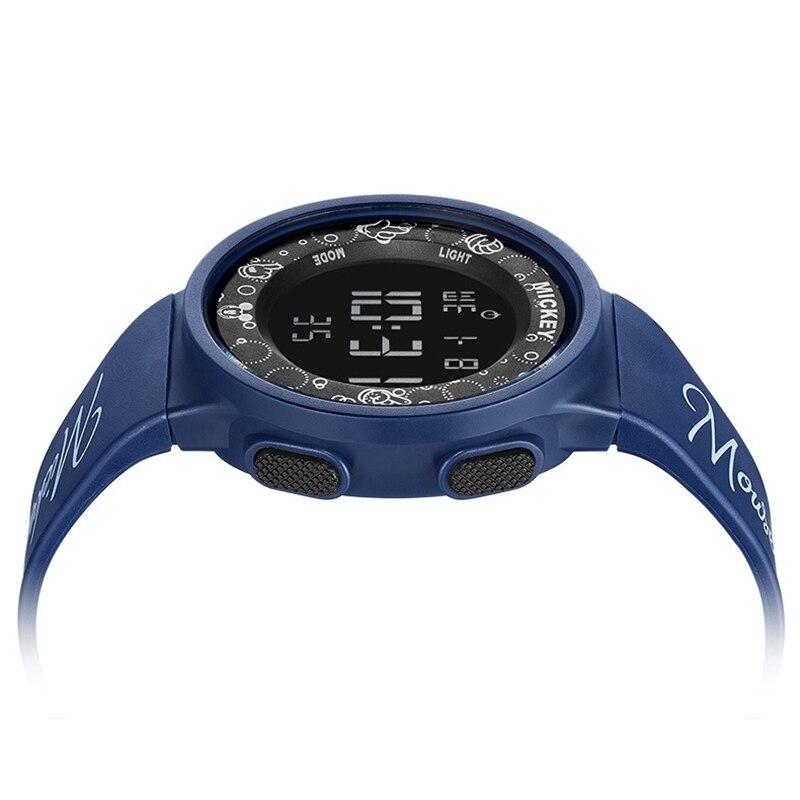 2020 Спорт Часы 5ATM Водонепроницаемый Резина Часы Для Детей Кварц Цифровые Часы Мальчик Микки Мышь Часы Световой Будильник Время Топ