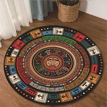 Новые ковры для гостиной цвет mayan этнический стиль шаблон