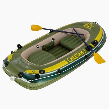 Outdoor Water Inflatable Boat 1/2/3 People PVC Inflatable Boat Foldable Durable Inflatable Kayak for Drifting Surfing 250x130CM best selling ce certificate pvc material inflatable boat for sale