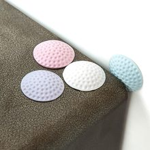 Baby Safety Shock Absorbers Security Door Protection Pad Stopper Newborn Care Child Lock Table Corner Protection Crash Pad(China)