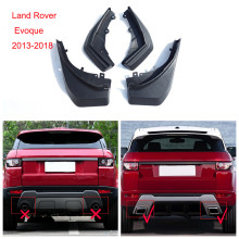4pcs/set Car mud flaps For Land Rover Evoque splash guard mudguards Mud guards in 2013-2018
