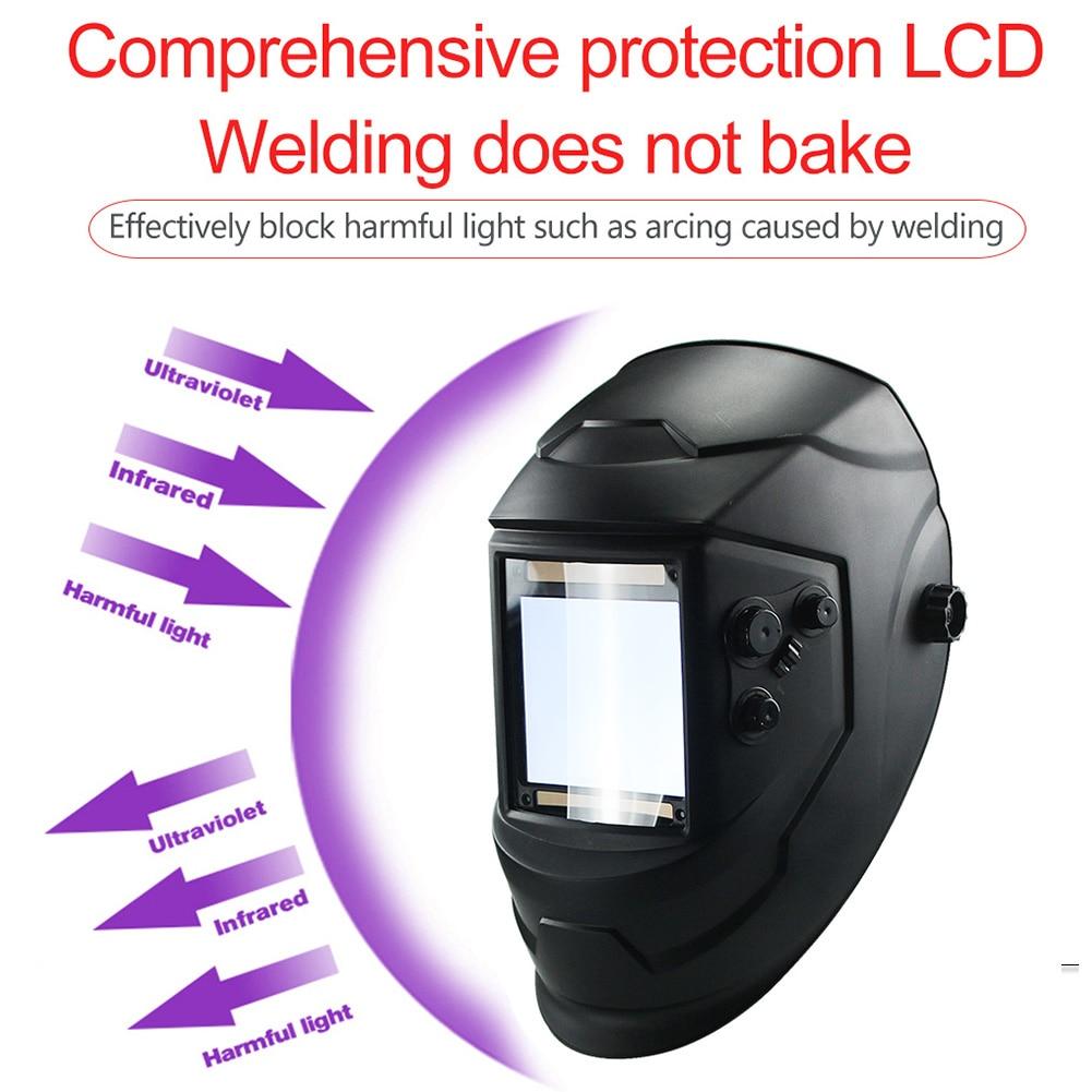 Tools : 4 Arc Grinding Protecter Big View TIG MIG Welding Lens  Cap Welding  Auto Darkening Lens Solar Helmet
