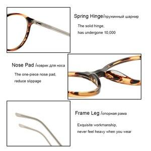 Image 5 - SASAMIA gözlük yuvarlak Retro Demi gözlük kadın optik daire gözlük çerçeve Vintage asetat gözlük çerçeveleri kadin Trends