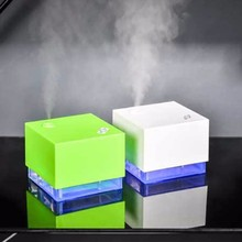 Creative Water Cube Humidifier Car Humidifier Air Purifier Diffuser Portable USB Humidifier Suitable for Bedroom Office Desktop creative cute pet air humidifier cute cat humidifier 320ml big capacity diffuser portable three in one desktop humidifier
