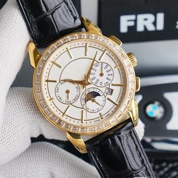 Leather Strap Mens Watch