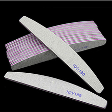 Nail-File Sandpaper Manicure-Care-Tools Polishing Nail-Sanding-Grinding Professional