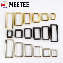 5/10Pcs Rectangle Metal Buckles for Bag Backpack Strap Dog Collar Webbings Snap Hooks Clasp DIY Leather Craft F1-4