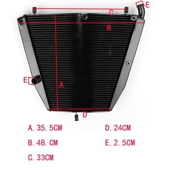 Motorcycle Aluminum Cooling Radiator For Honda CBR1000RR CBR1000 RR 2006-2007