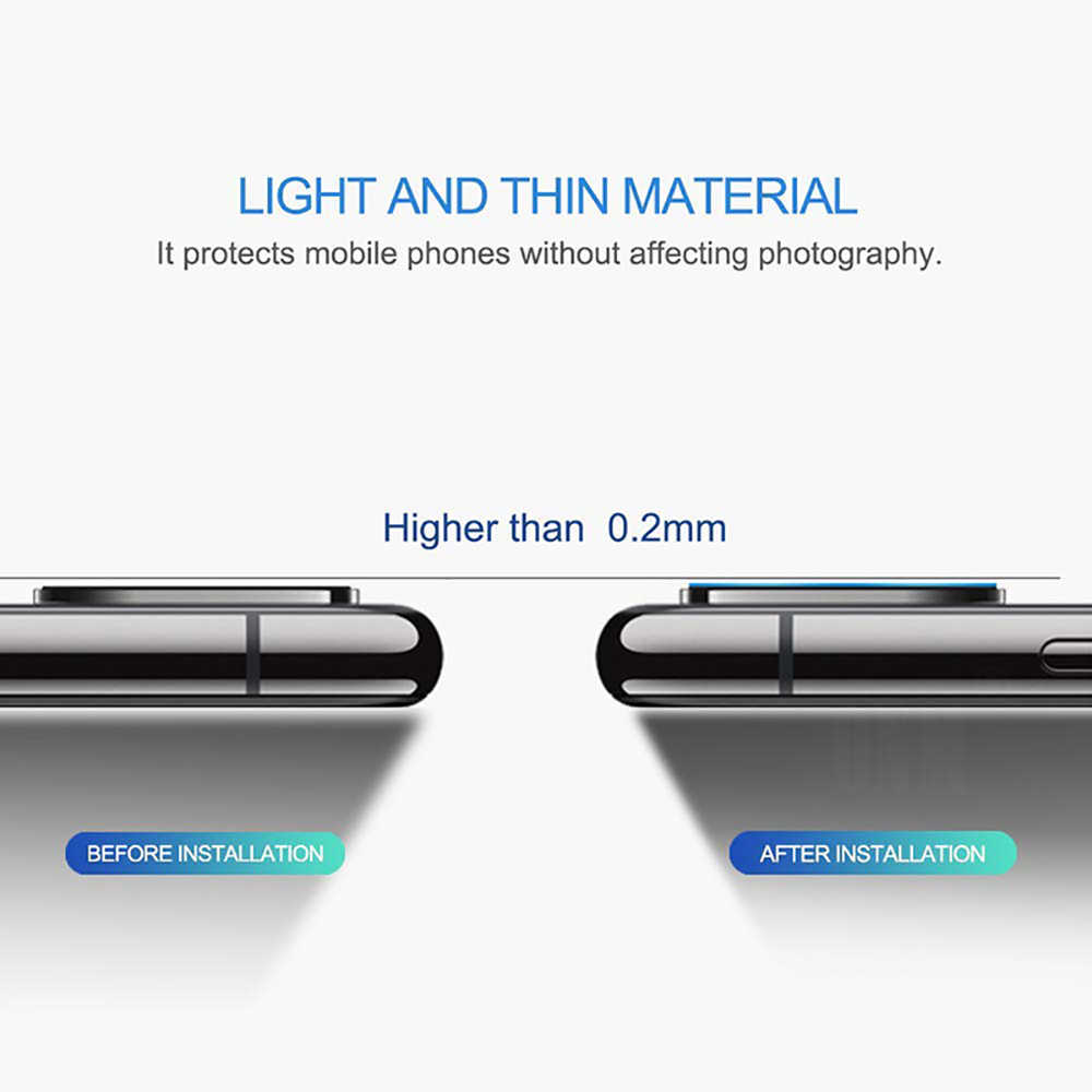 2 pçs lente da câmera vidro temperado para samsung galaxy a51 a71 protetor de tela de vidro para galaxy a51 SM-A515F câmera traseira filme