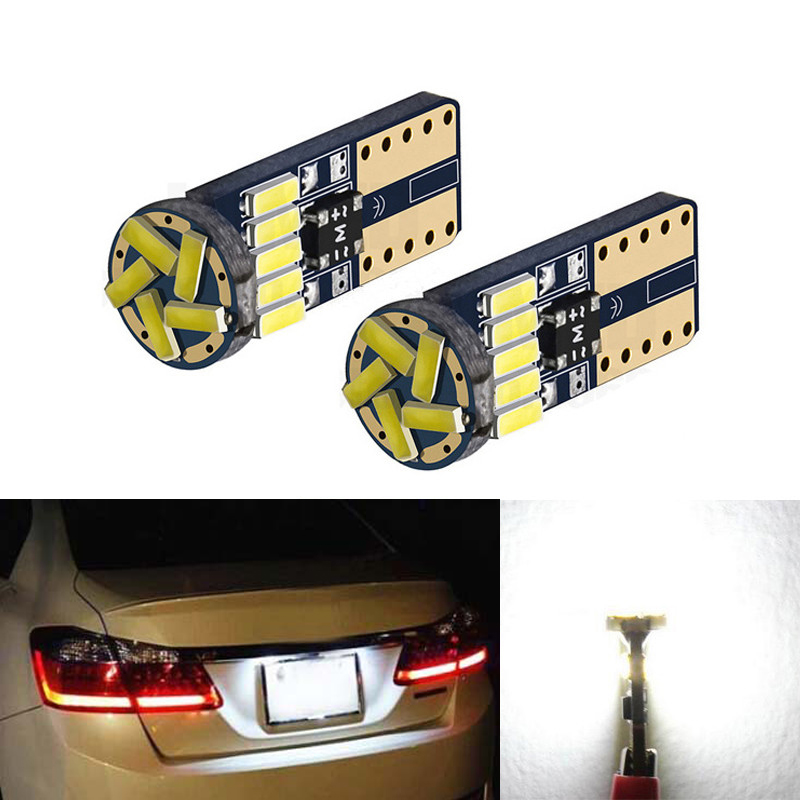 BOAOSI 2x T10 LED W5W Samsung 4014 Auto kentekenverlichting Lampen - Autolichten - Foto 1