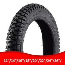 Novo mtb bicicleta pneus 26/24/22/20/18/16/14x1.75/1.95/2.4 polegadas ciclismo pneu da bicicleta anti punctura pneus de bicicleta pneumu
