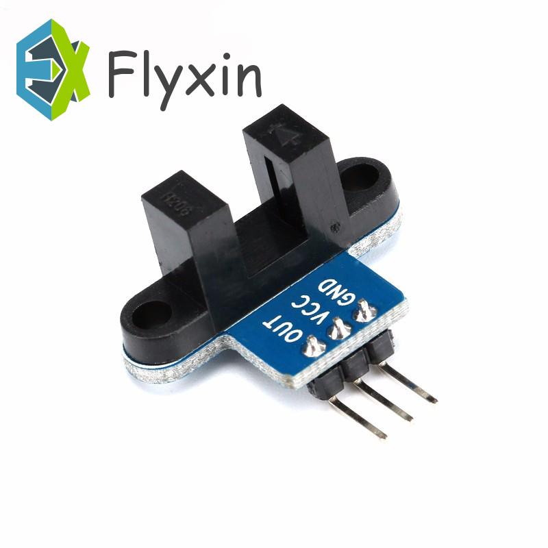 1pcs High QualityMotor Test IR Infrared Slotted Optical Speed Measuring Sensor Detection Optocoupler Module