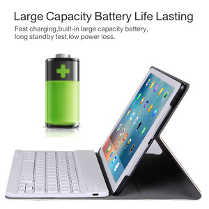 Image 2 - Business Case for IPad Mini 1 2 3 4 5 2019 Wireless Bluetooth Keyboard Full Protective Portable Keyboard Case Smart Cover