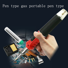 10 Piece Portable Tool Set Hs-1115k Pen Type Gas Soldering Iron Electronic Ignition Gas Gas Gas