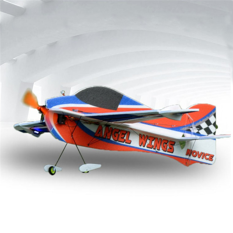 Angel Wings F3P 850mm Wingspan 8mm EPP 3D Aerobatic Trainer Aircraft RC Airplane KIT/PNP For Kids RC Toys Outdoor Toys