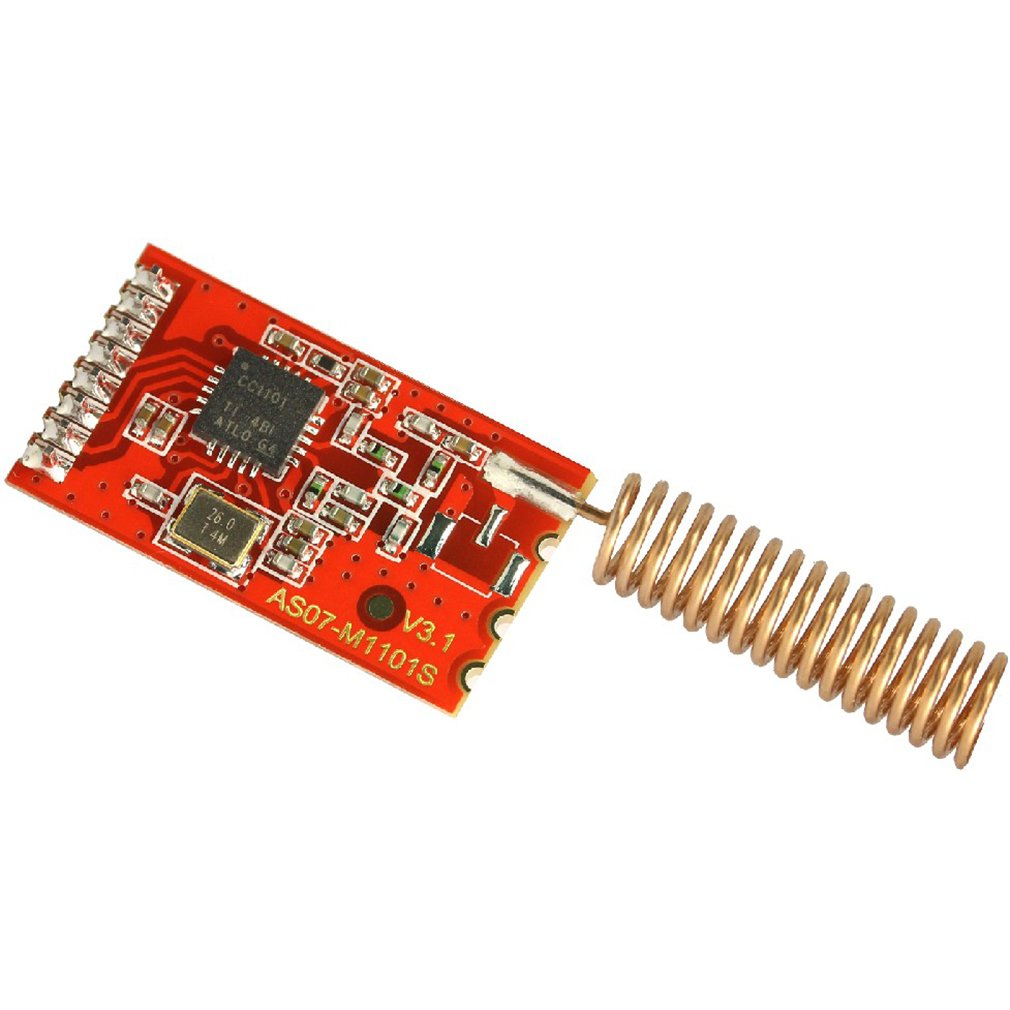 Super Deals Top Selling High Quality 433M CC1101 10mW Wireless Sender Receiver Module NRF905/SX1212/si4432 Hot Selling