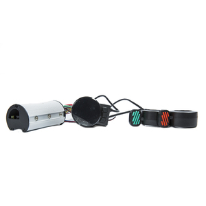 Image 5 - Mini Round Electric Bike Scooter Controller Brake LCD Unit Carbon Fiber Scooter Motor Controller 24v 36v 48v 250w 350w