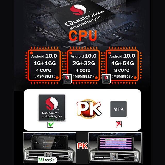 Z systemem Android 10 Snapdrago 1920*720P samochodowe Multimedia Radio GPS dla BMW X3 E83 2004-2010 film nawigacyjny 4G nr 2 din odtwarzacz DVD