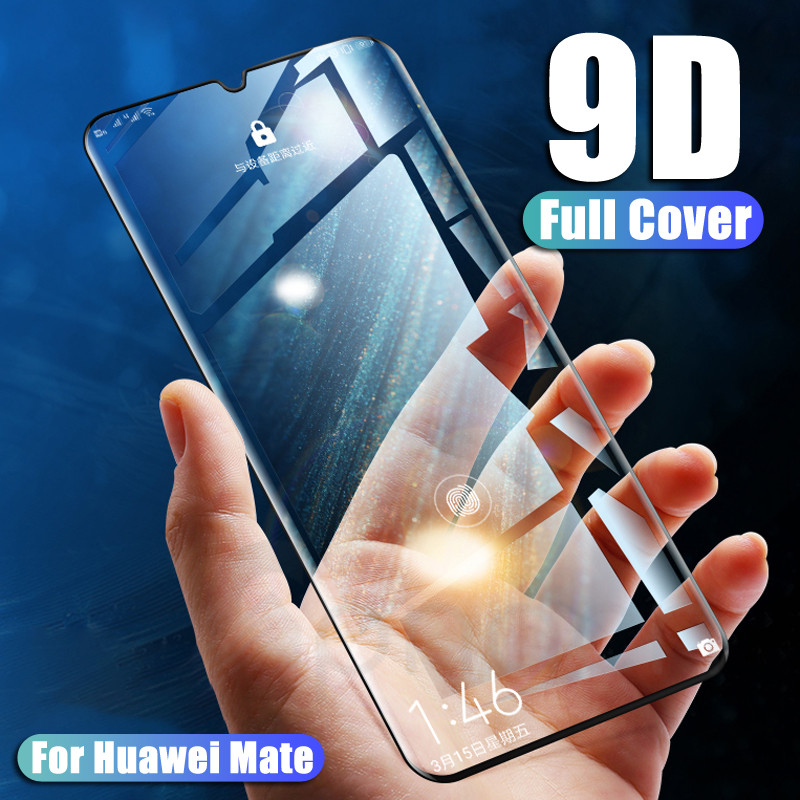 9D Protective Glass On The For Huawei P30 P20 Pro P20 P10 Lite Plus P Smart 2019 Safety Tempered Screen Protector Glass Film