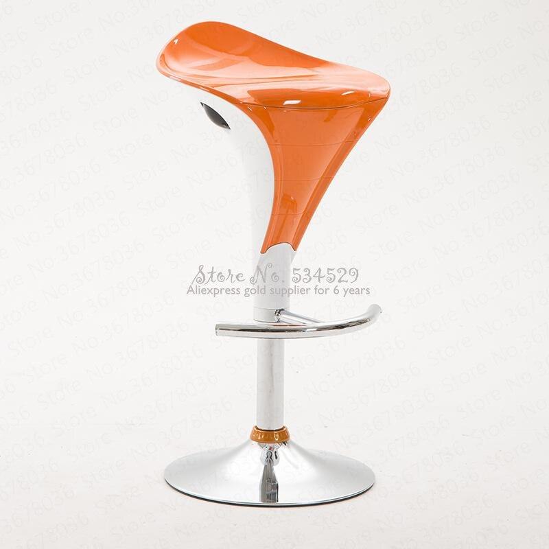21%Modern European Minimalist Bar Chair Lift Chair High Stool Bar Chair Bar Stool Rotary Bar Table And Chair Creative High Stool