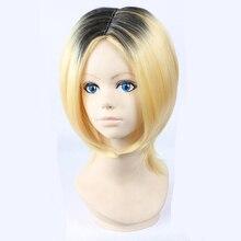 Cosplay Wig Short-Costume Anime Haikyuu Kenma Wig-Cap Hair Kozume