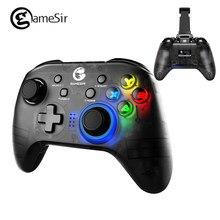GameSir T4 PRO Gamepad Bluetooth 2,4 GHz Wireless Game Controller unterstützung iOS / Android/PC/Schalter Pubg spiele mit halter