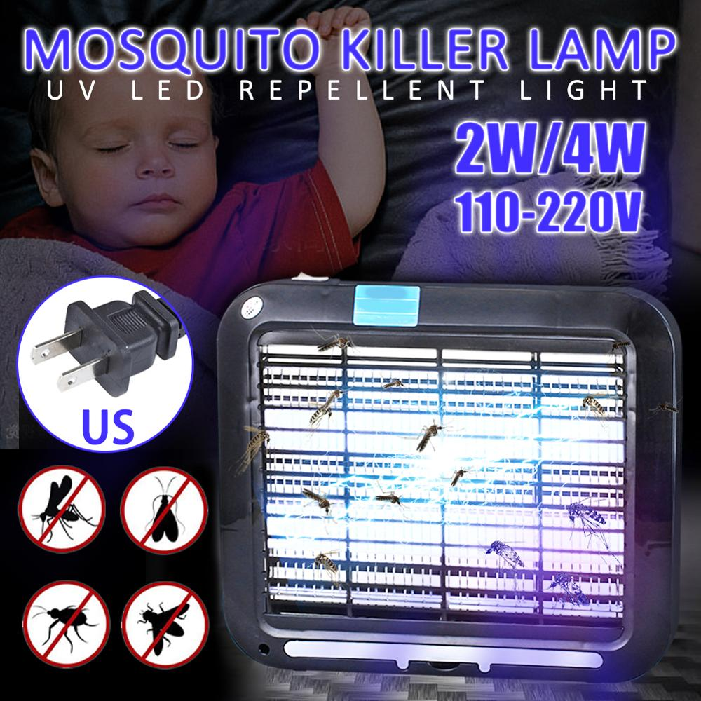 Portable Electric Shock LED Mosquito Killer Lamp Outdoor Indoor Energy Saving Bug Fly Trap Anti Insect Trap Lamps For Home