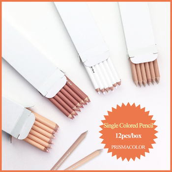 PRISMACOLOR profesjonalne tłuste kredki 12 sztuk Lapis de cor szkic kolorowy ołówek rysunek artystyczny dostaw PC927 938 1092 1093 tanie i dobre opinie US (pochodzenie) kolorowa PC-927 938 1092 1093