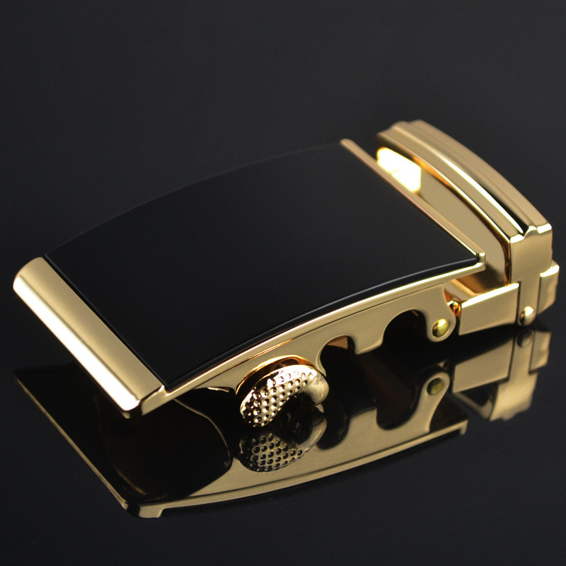 Fashion Men's Business Alloy Automatic Buckle Unique Men Plaque Belt Buckles For 3.5cm Ratchet Men Apparel Accessories LY1576-4