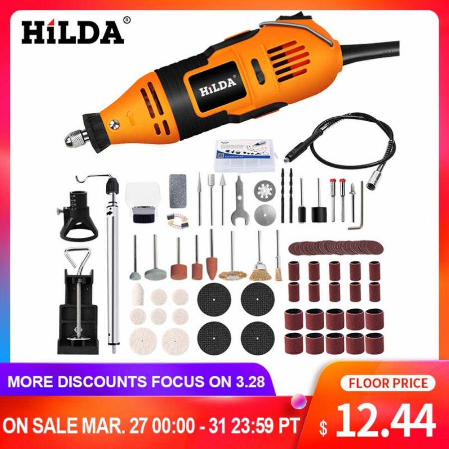 Hilda Electric Drill Dremel Grinder Engraving Pen Mini Drill Electric Rotary Tool Grinding Machine Dremel Accessories Power Tool Ra Sean Shoppe