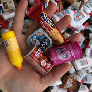 Случайный 5 шт 1/6 1/12 Мини Супермаркет миниатюры еды Кукольный дом предметы первой необходимости rement кукла кухня еда игровой дом для Барби
